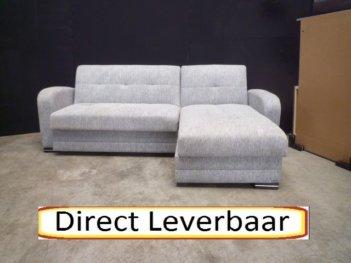 Loungebank Slaapbank H15 Kubo Licht Grijs