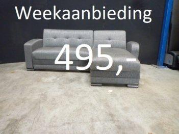 Weekaanbieding: Loungebank Slaapbank H16