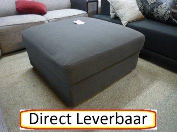 Hocker Van Urban Sofa Antraciet Grijs 80×80 Cm