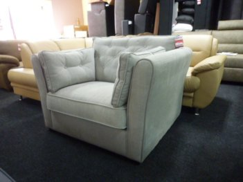 Fiore Loveseat Linate Light Grey