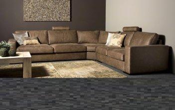 Giorno XXL Hoekbank Galardo Leder Urban Sofa