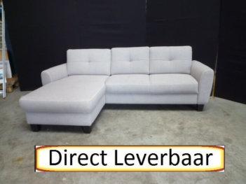 Lounge Bank H15 Grijs Stof Met Een Mooi Design