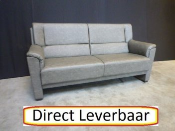 Driezitter En Stoel H33 Antraciet Lederlook