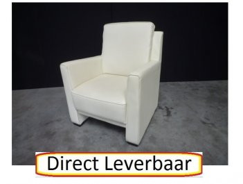 Fauteuil H32 Cream Leatherlook