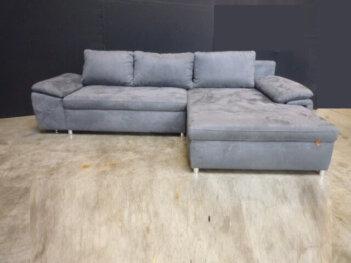 Loungebank H59 Grijs Altara Losse Kussens