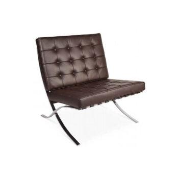 Barcelona Chair Bruin Of Cognac Leder