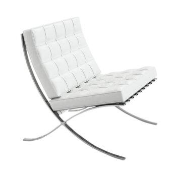 Barcelona Chair Wit Leder