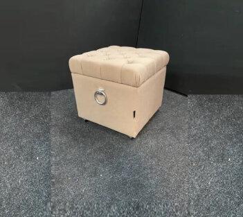 Storage Hocker Van Urban Sofa Liver Stof 50×50 Cm